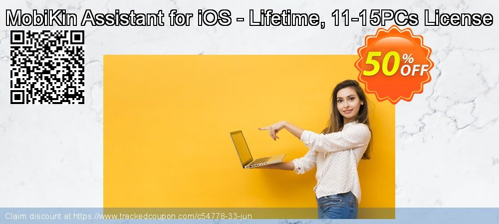 MobiKin Assistant for iOS - Lifetime, 11-15PCs License coupon on World Chocolate Day super sale
