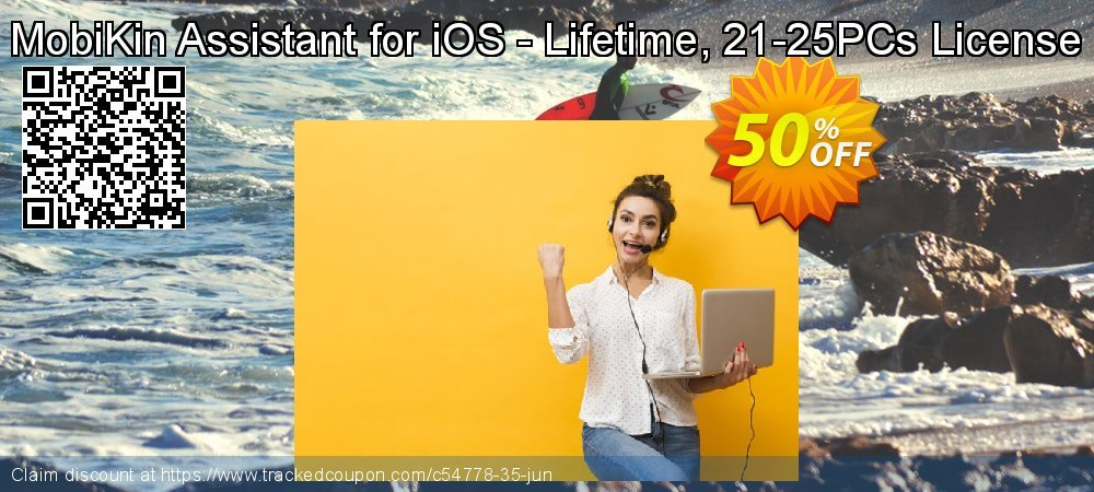 MobiKin Assistant for iOS - Lifetime, 21-25PCs License coupon on World UFO Day promotions