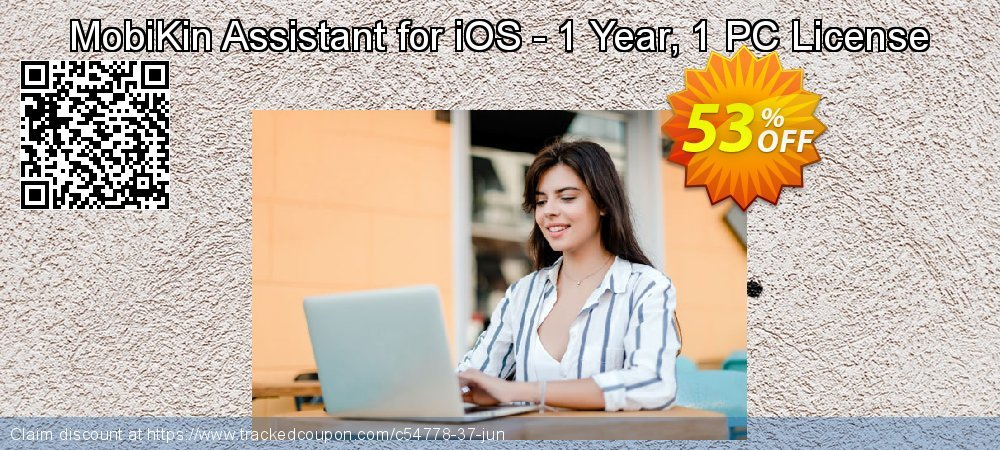 MobiKin Assistant for iOS - 1 Year, 1 PC License coupon on Video Game Day deals
