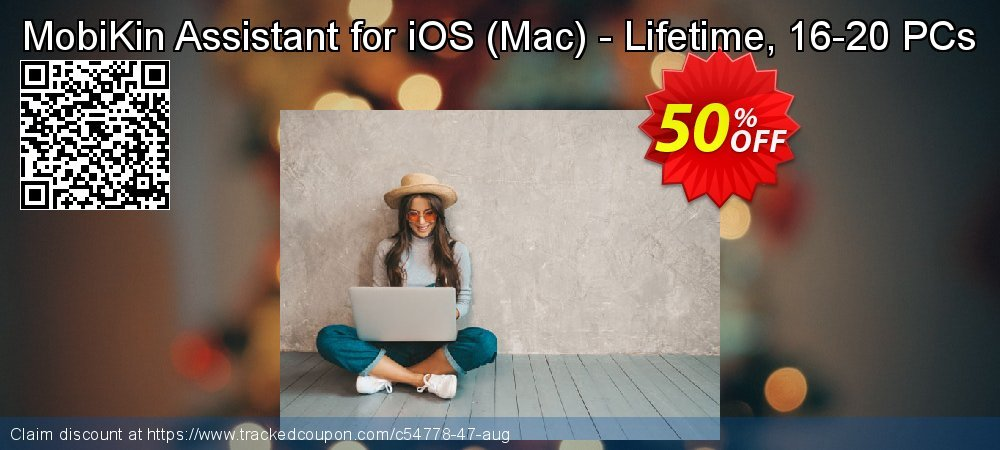 MobiKin Assistant for iOS - Mac - Lifetime, 16-20 PCs coupon on National French Fry Day offer
