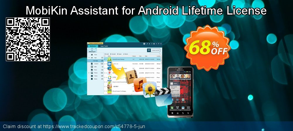 MobiKin Assistant for Android coupon on New Year's Day promotions