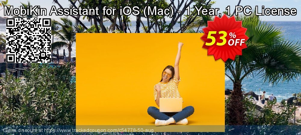 MobiKin Assistant for iOS - Mac - 1 Year, 1 PC License coupon on Video Game Day offering sales