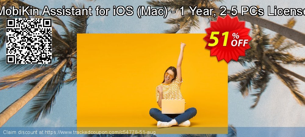 MobiKin Assistant for iOS - Mac - 1 Year, 2-5 PCs License coupon on World Population Day super sale