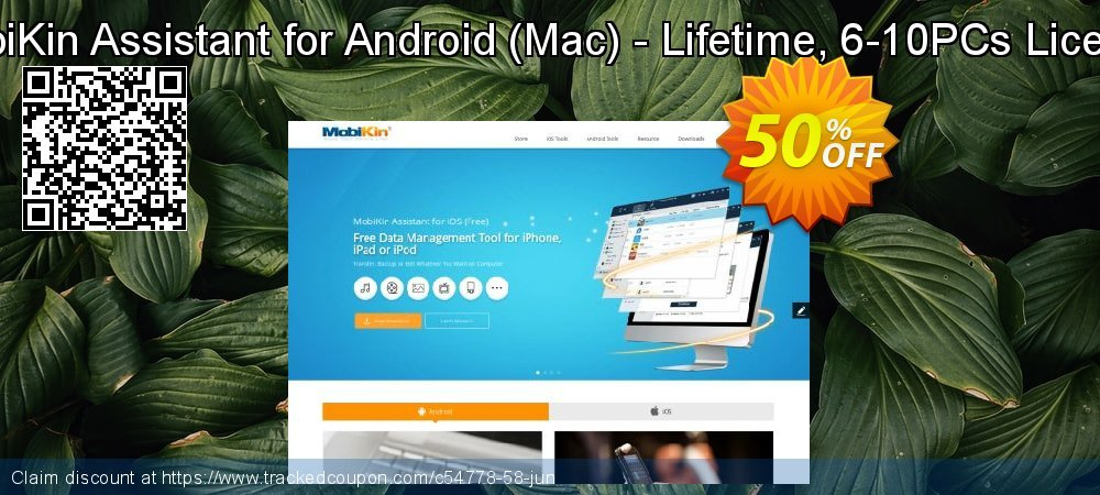 MobiKin Assistant for Android - Mac - Lifetime, 6-10PCs License coupon on American Independence Day offering discount