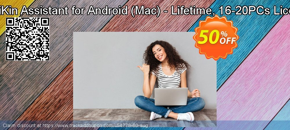 MobiKin Assistant for Android - Mac - Lifetime, 16-20PCs License coupon on National French Fry Day super sale