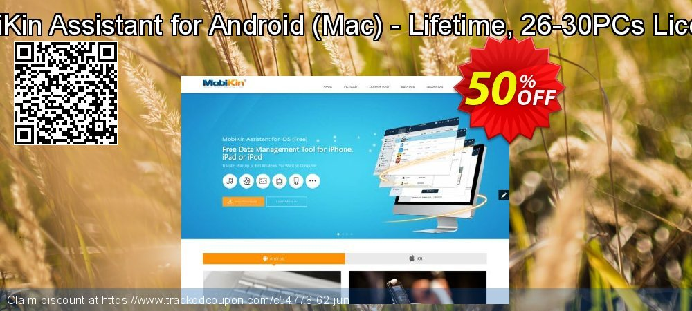 MobiKin Assistant for Android - Mac - Lifetime, 26-30PCs License coupon on Eid al-Adha promotions