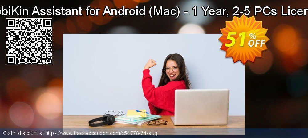 MobiKin Assistant for Android - Mac - 1 Year, 2-5 PCs License coupon on World Population Day deals