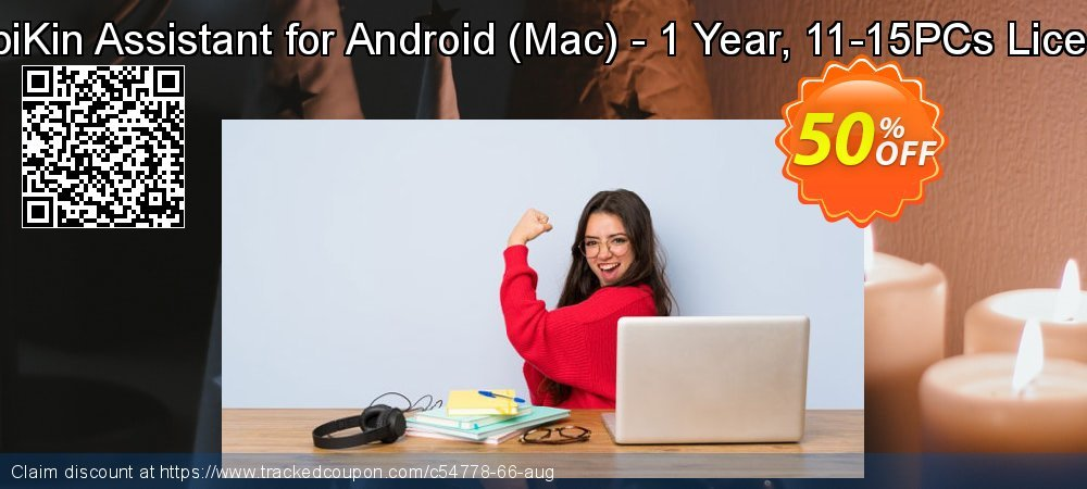 MobiKin Assistant for Android - Mac - 1 Year, 11-15PCs License coupon on Tattoo Day discount