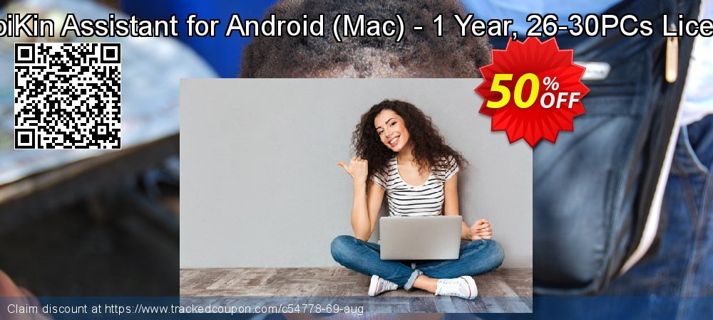 MobiKin Assistant for Android - Mac - 1 Year, 26-30PCs License coupon on Summer super sale