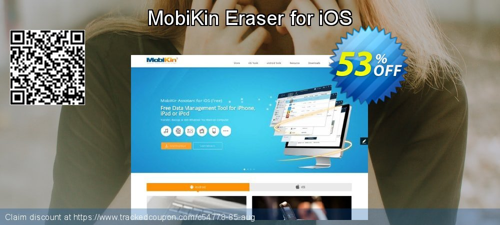MobiKin Eraser for iOS coupon on Father's Day discount