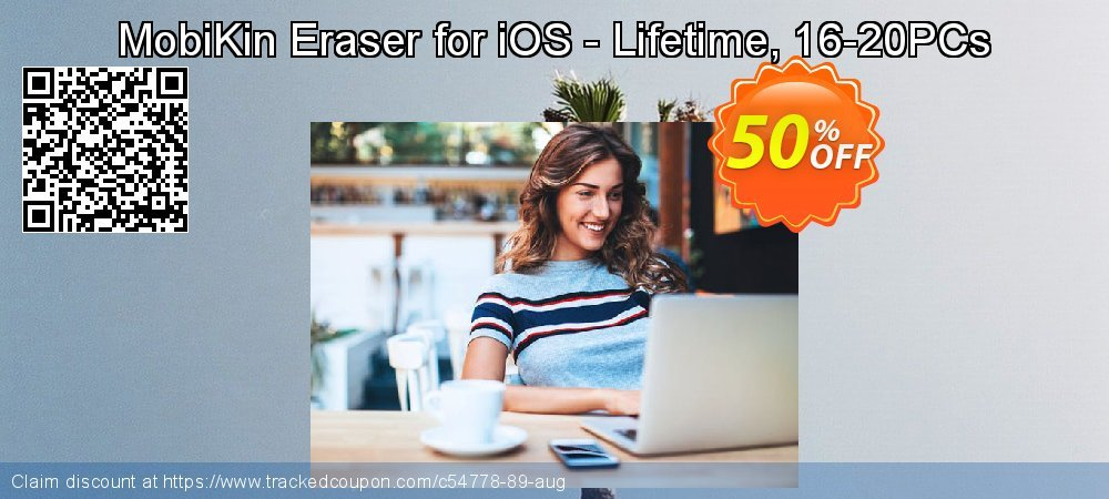 MobiKin Eraser for iOS - Lifetime, 16-20PCs coupon on New Year's Day offer