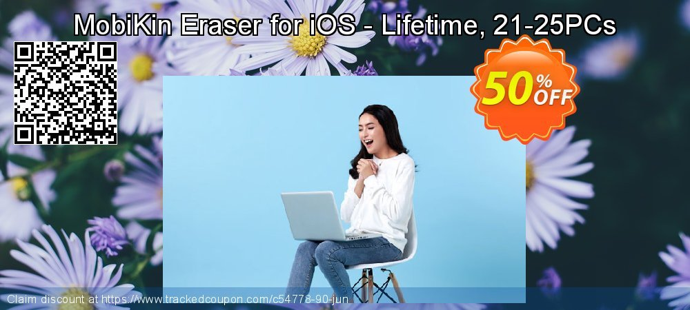 MobiKin Eraser for iOS - Lifetime, 21-25PCs coupon on Summer promotions