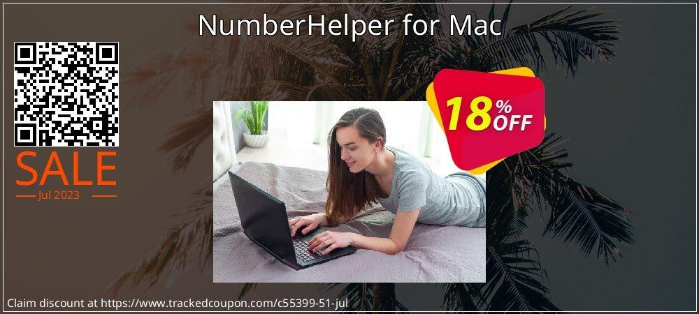 Get 10% OFF NumberHelper for Mac offering sales