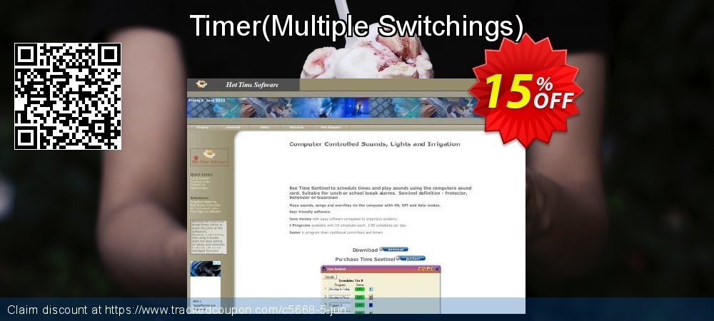 Get 15% OFF Timer(Multiple Switchings) offering sales