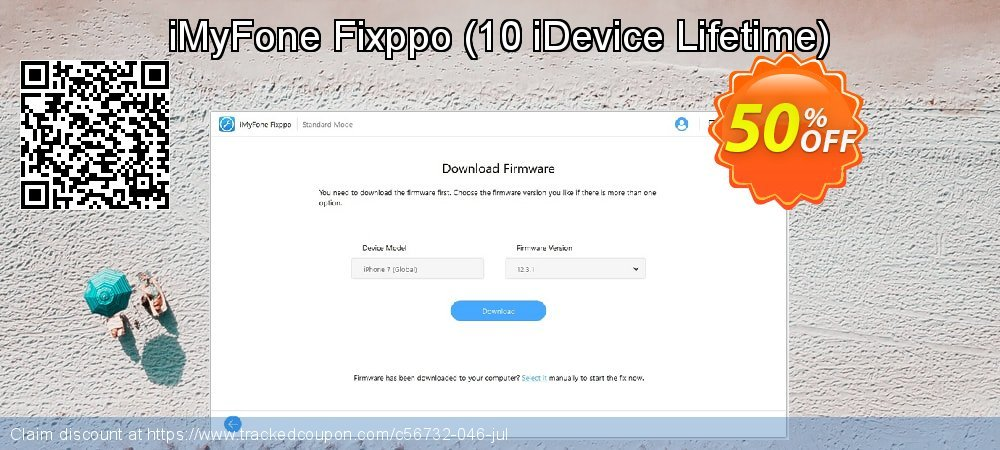 iMyFone Fixppo - 10 iDevice Lifetime  coupon on Halloween offering sales