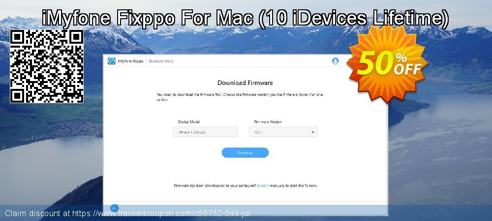 iMyfone Fixppo For Mac - 10 iDevices Lifetime  coupon on Halloween promotions