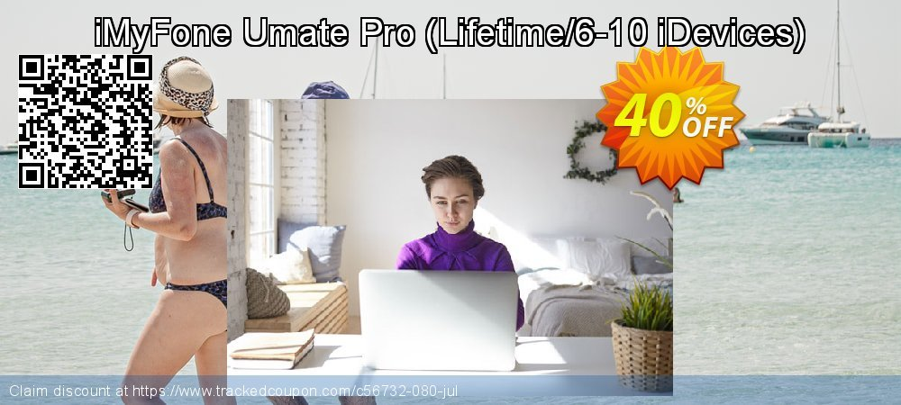 iMyFone Umate Pro - Lifetime/6-10 iDevices  coupon on Halloween discount