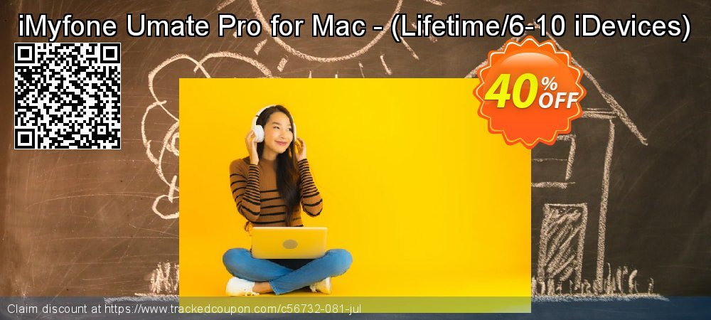 iMyfone Umate Pro for Mac - - Lifetime/6-10 iDevices  coupon on Halloween offering discount
