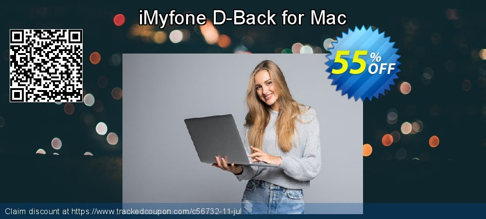Claim 48% OFF iMyfone D-Back for Mac Coupon discount June, 2020