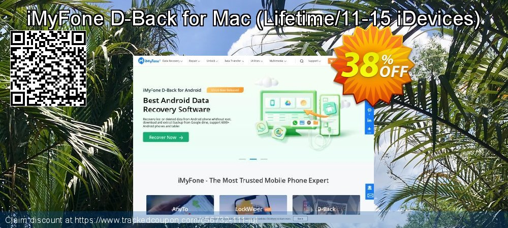 iMyFone D-Back for Mac - Lifetime/11-15 iDevices  coupon on Halloween discounts