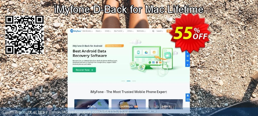 Claim 30% OFF iMyfone D-Back for Mac coupon code - Family License Coupon discount May, 2019