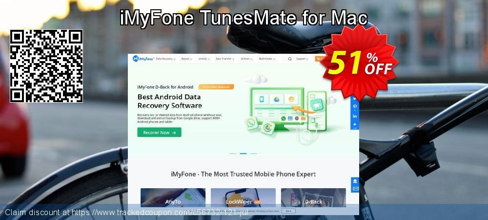 iMyFone TunesMate for Mac coupon on Halloween promotions