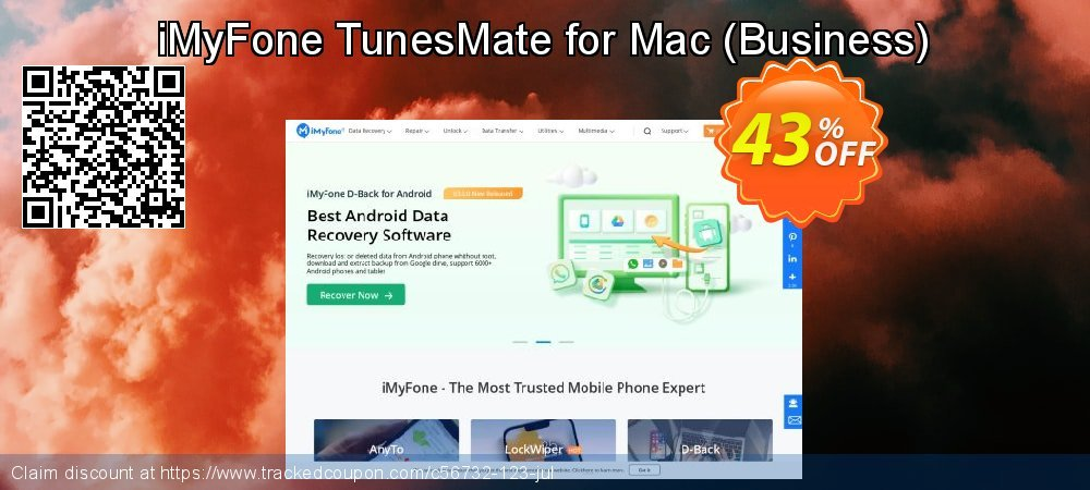 iMyFone TunesMate for Mac - Business  coupon on Halloween deals