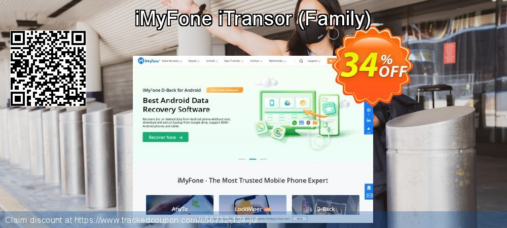 iMyFone iTransor - Family  coupon on Halloween offer