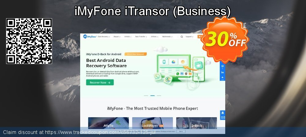 iMyFone iTransor - Business  coupon on Halloween discount