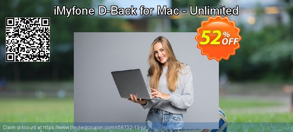 iMyfone D-Back for Mac - Unlimited coupon on Halloween promotions