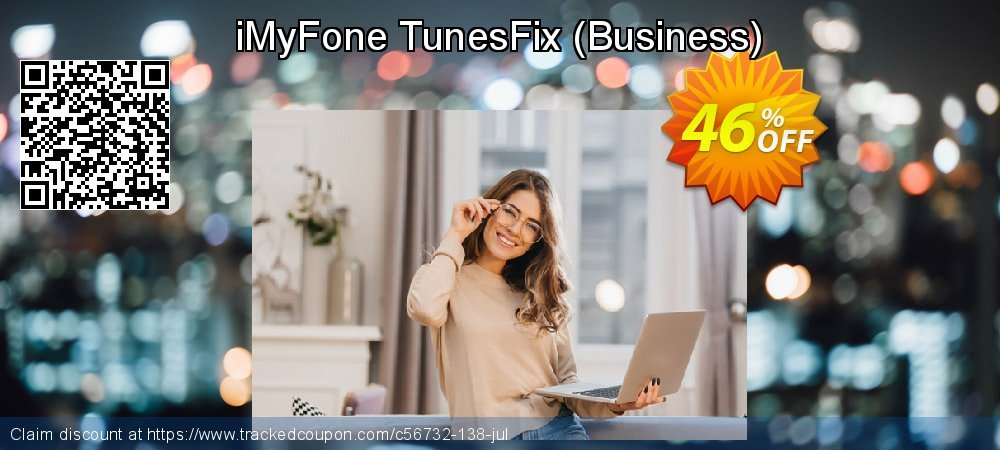 iMyFone TunesFix - Business  coupon on Halloween discounts