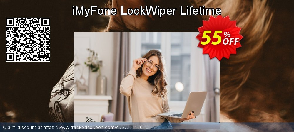 iMyFone LockWiper - Family License coupon on Halloween sales