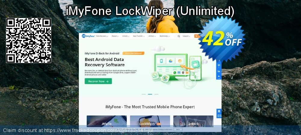 iMyFone LockWiper - Unlimited  coupon on Halloween deals
