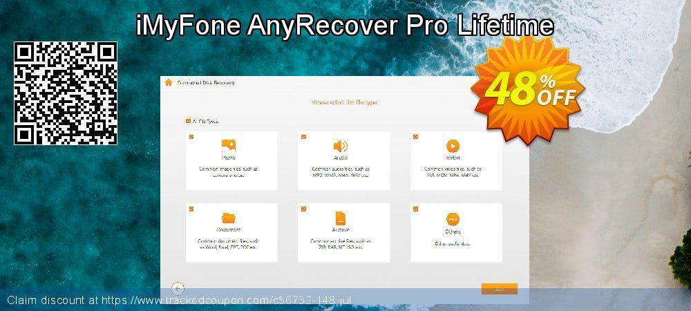 iMyFone AnyRecover Pro Lifetime coupon on Halloween promotions