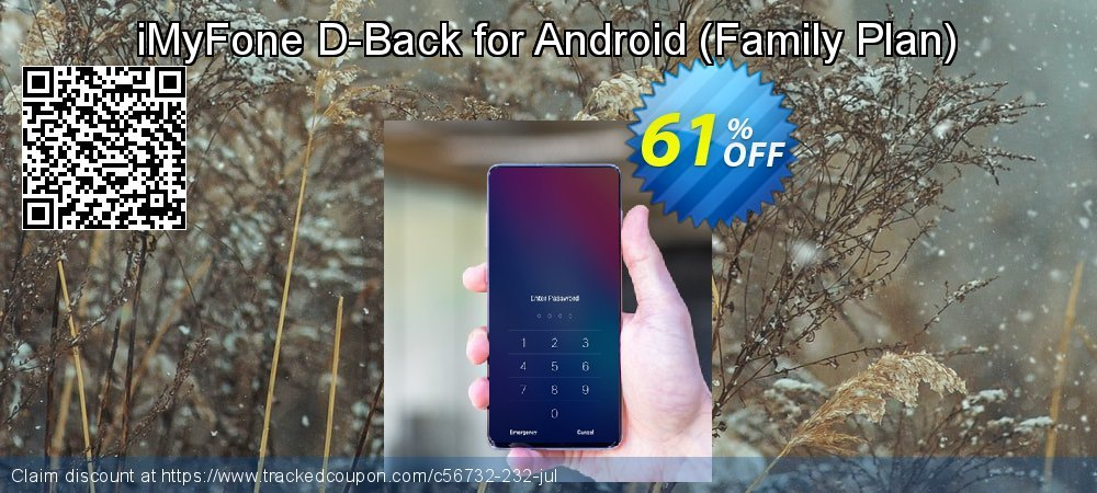 iMyFone D-Back for Android - Family Plan  coupon on Halloween offer