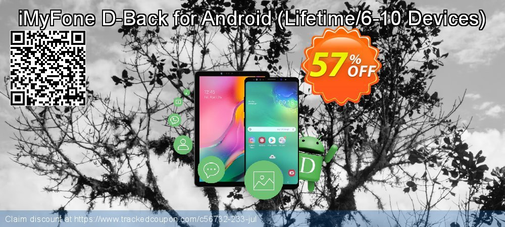Claim 57% OFF iMyFone D-Back for Android - Lifetime/6-10 Devices Coupon discount August, 2020
