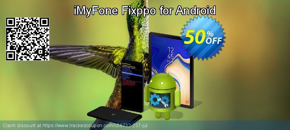 iMyFone Fixppo for Android coupon on Halloween discounts