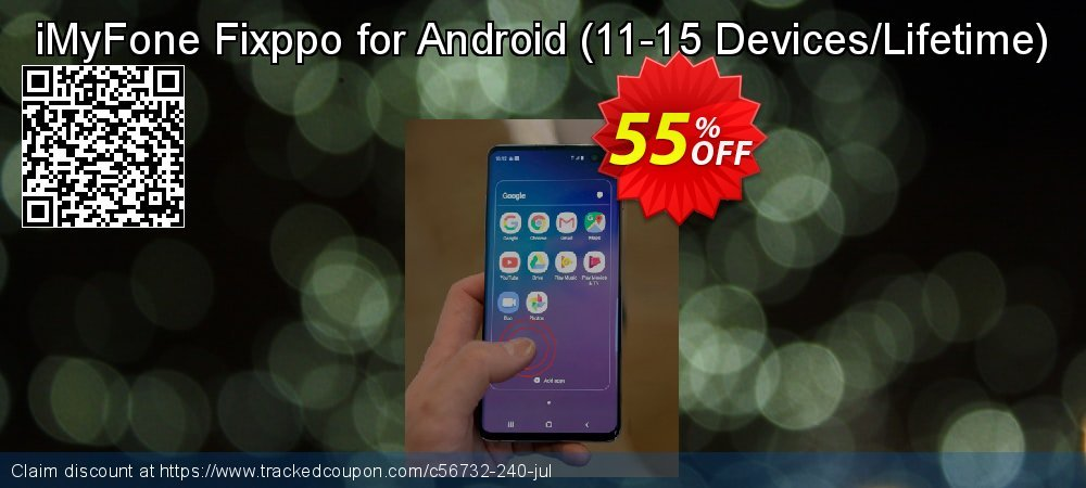 iMyFone Fixppo for Android - 11-15 Devices/Lifetime  coupon on Halloween deals