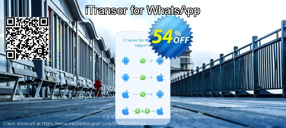 iTransor for WhatsApp coupon on Mom Day discounts