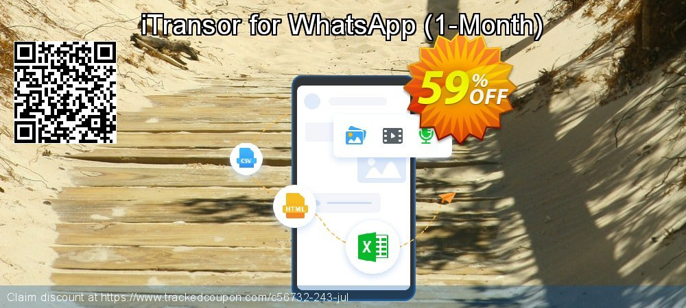 iTransor for WhatsApp - 1-Month  coupon on Halloween offering discount