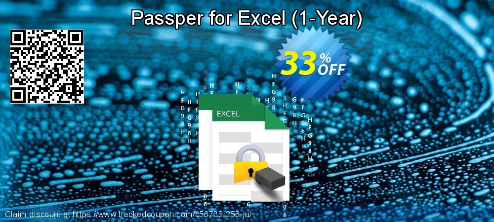 Claim 33% OFF Passper for Excel - 1-Year Coupon discount July, 2020