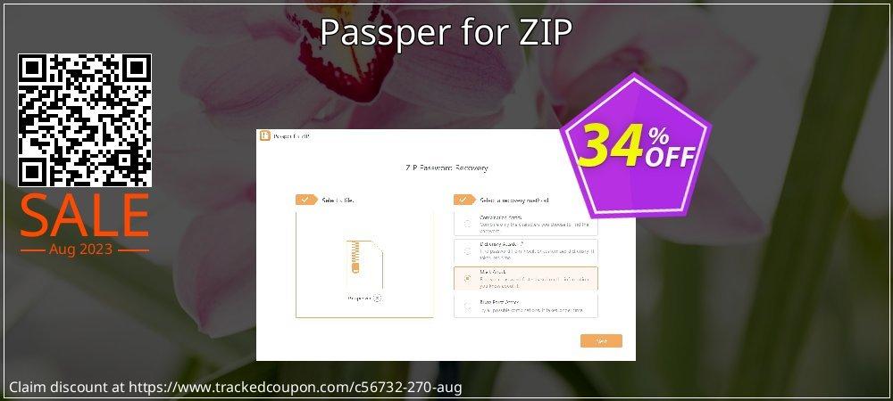 Passper for ZIP coupon on Halloween offering discount