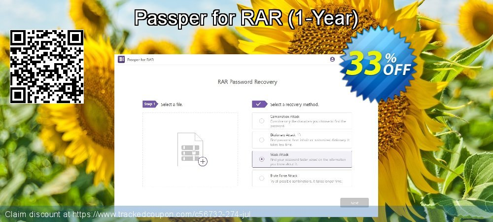 Passper for RAR - 1-Year  coupon on Halloween promotions