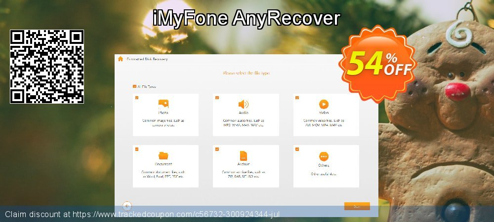 iMyFone AnyRecover coupon on Halloween super sale
