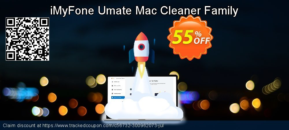 iMyFone Umate Mac Cleaner Family coupon on Halloween discounts