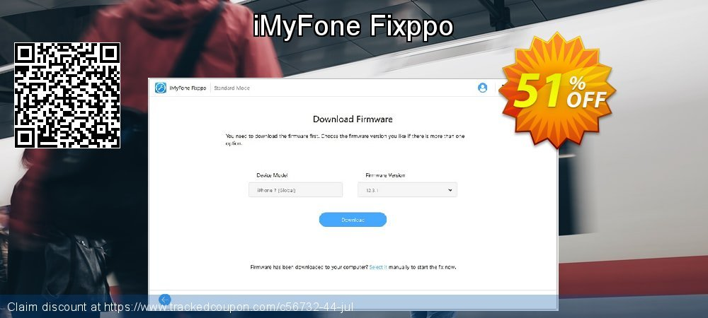 iMyFone Fixppo coupon on Halloween discount