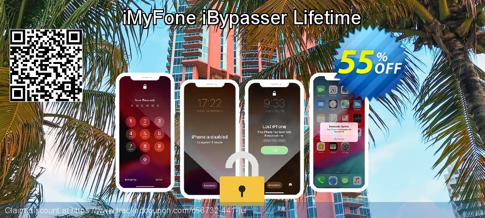 Get 55% OFF iMyFone iBypasser Lifetime discount