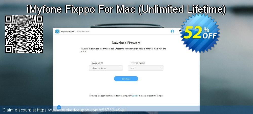 iMyfone Fixppo For Mac - Unlimited Lifetime  coupon on Halloween promotions