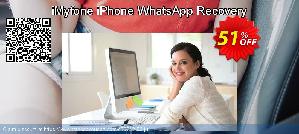 Claim 50% OFF iMyfone iPhone WhatsApp Recovery Coupon discount August, 2019