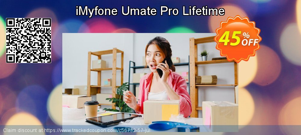 iMyfone Umate Pro - Family License coupon on Exclusive Student deals super sale